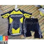 ชุดจักรยานแขนสั้น Specialized 2015 สีดำเหลือง