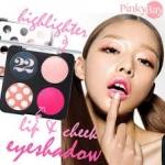 Ver.22 Chosungah Viva Hip Girl Kit (Eye Shadow Blush Lip Color Color Palettes ) พาเลทแสนสวย ครบทั้งตา แก้ม และปาก สีไฮไลท์ชมพูอ่อนสวยๆ ในแพคเกจสุดชิค สไตล์ Ver.22