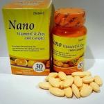 Doctor-C Nano Vitamin C & Zinc 1,000 mg.