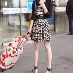 รองเท้าแตะผู้หญิงสีม่วง รัดส้น แบบสวม ประดับลูกปัด สไตล์โบฮีเมี่ยน ส้นแบน แฟชั่นเกาหลี