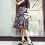 รองเท้าส้นสูงสีดำ รัดส้น หัวแหลม ออกแบบสายรัดเก๋ไก๋ ส้นเข็ม ส้นสูง8.5cm แฟชั่นเกาหลั