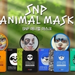 แผ่นมาร์กหน้าลายสัตว์ SNP ANIMAL MASK (แผ่นมาส์กหน้าใส)