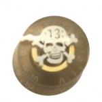 วอลุ่มกีต้าร์ไฟฟ้า สีทองรูปกระโหลก LP Speed Knob Style LPS-07