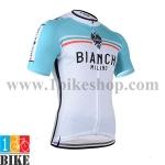 เสื้อปั้นจักรยาน Biachi 2014 สีขาวเทา