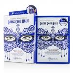มาส์คหน้ากากแฟนซี หน้าใส Mediheal Dress Code Mask สีน้ำเงิน ปรับสมดุลให้ผิวมีสุขภาพดี