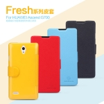 เคสมือถือ Huawei Ascend G700 ยี่ห้อ Nillkin รุ่น Fresh Series Leather Case