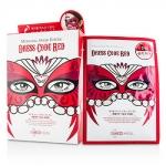 มาส์คหน้ากากแฟนซี หน้าใส Mediheal Dress Code Mask สีแดง ช่วยเพิ่มความชุ่มชื้นให้กับผิว ลดริ้วรอย และขาวใส