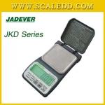 JKD II-100 เครื่องชั่ง100กรัม เครื่องชั่งน้ำหนัก100กรัม เครื่องชั่งดิจิตอล100กรัม เครื่องชั่งน้ำหนักแบบพกพา100g ตาชั่งพกพา100g เครื่องชั่งน้ำหนักระบบอิเล็กทรอนิกส์100g ความละเอียด0.02g JADEVER JKD-100