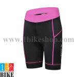 กางเกงปั่นจักรยานแขนสั้น Cheji 2015 สีดำชมพู