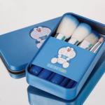Doraemon mini Brush Set ชุดแปรงแต่งหน้า โดเรม่อน พร้อมกล่อง