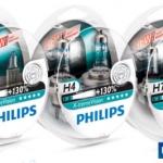 หลอดไฟหน้ารถ Philips X-Treme Vision +130%
