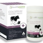 Health Essence Colostrum Chewable Tablets นมเพิ่มความสูง ชนิดอัดเม็ด
