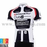 เสื้อปั้นจักรยาน BMC2015 สีขาวดำ