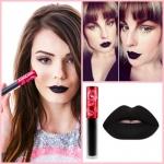 Lime Crime Velvetines Liquid Matte Lipstick สี Black Velvet สีนี้สำหรับสาวๆแฟชั่นนิสต้า หรืองานปาร์ตี้ที่ต้องการความโดดเด่นไม่เหมือนใคร ลิปสติกเนื้อลิควิด ที่ทาออกมาจะเป็นโทนสีด้านๆ สวยมากๆ ติดทนทั้งวัน สามารถเบลนสีบนริมฝีปากได้อย่างเรียบเนียน