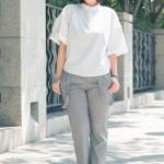 4 ไอเดียการแต่งตัวแฟชั่นชุดทำงานคนอ้วนในสไตล์สีขาวที่สวมใส่ได้หลายโอกาส