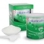 CollaHealth Hydrolyzed Fish Collagen Powder ผลิตภัณฑ์อาหารเสริม ไฮโดรไลซ์ด ฟิช คอลลาเจน ชนิดผง 200 กรัม