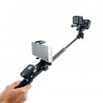 Monopod รุ่นใหม่ล่าสุด (รีโมท,โทรศัพท์,ใส่ได้กล้องได้ 2 ตัว)