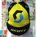 หมวกแก็บ Scott สีเหลืองดำ