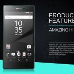 ฟิล์มกระจก Sony Xperia Z5 Premium ยี่ห้อ NILLKIN รุ่น Amazing H