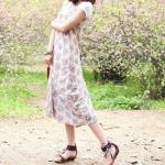 รองเท้าแตะผู้หญิงสีฟ้า รัดส้น แบบสวม ประดับลูกปัด สไตล์โบฮีเมี่ยน ส้นแบน แฟชั่นเกาหลี