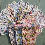 โปร..6ชุด 200บ. ชุดเสื้อกล้ามS คละลาย ไซด์ประมาณ 3-12ด.