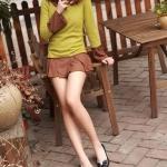 รองเท้าส้นแบนผู้หญิงสีดำ พื้นยาง หุ้มส้น หัวกลม ประดับโบว์ น่ารัก แฟชั่นเกาหลี