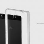 เคสมือถือ Huawei P8 lite ยี่ห้อ nillkin รุ่น nature tpu case