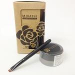 Mei Linda MIRACLE My Brow 3D Gel เมลินดา เจลเขียนคิ้ว มาพร้อมกับแปรงเขียนคิ้วหัวตัด