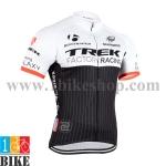 เสื้อปั้นจักรยาน Trek2015 สีขาวดำ