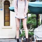 รองเท้าบู๊ทผู้หญิงสีน้ำตาล หนังกำมะหยี่ ด้านในผ้าฝ้าย ส้นแบน แฟชั่นฤดูหนาว