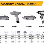 "3/8""-1/4"" AIR IMPACT WRENCH"