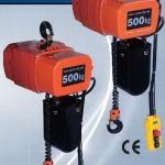 **รอกโซ่ไฟฟ้า HITACHI 250 Kg./220 Model : 1/4 SSH2