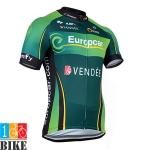 เสื้อปั้นจักรยาน Europcar 2014 สีเขียว