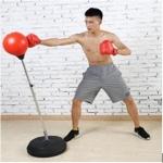อุปกรณ์ชกมวย เป้าชก Adult ball speed 120-150 cm (สีแดง)