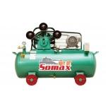 **ปั๊มลมโซแม็กซ์ SOMAX ขนาด 5 แรงม้า รุ่น SฺC 50/148/380
