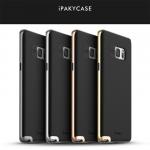 เคส Note 7 เคส iPaky Hybrid Bumper เคสยางนิ่มพร้อมขอบบั้มเปอร์พลาสติก