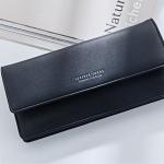 กระเป๋าสตางค์ผู้หญิง ทรงยาว รุ่น Weichen Forever Young Half Black สีดำ ส่งพร้อมกล่อง