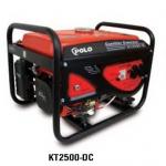 **เครื่องกำเนิดไฟฟ้า เครื่องปั่นไฟฟ้า polo 2 กิโลวัตต์ รุ่น KT-2500DC สตาร์ทมือ