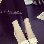 รองเท้าคัทชูผู้หญิงสีขาว ส้นเตี้ย หัวแหลม ดีไซส์ทันสมัย ดูดี ทรงสุภาพ แฟชั่นเกาหลี