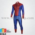 ชุดแขนยาว Spider Man สี แดงน้ำเงิน