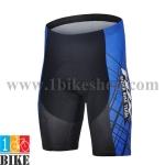 กางเกงปั่นจักรยานขาสั้น Fox 2015 สีดำน้ำเงิน