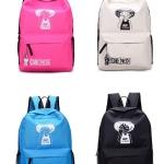 กระเป๋าเป้แฟชั่น ลายการ์ตูนOne Piece สุดฮิต วัสดุผ้าใบคุณภาพ วัยรุ่นชอบ นักเรียนชอบ แฟชั่น