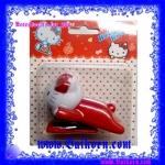 แม็กซ์หนีบกระดาษ รูปเจ้าแมว คิตตี้ สีแดง ( Hello Kitty Stapler) แม็กซ์หนีบกระดาษขนาดพกพา แบบน่ารักที่ใช้ประโยชน์ได้