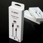 สายชาร์จ Double-Side USB & Micro ยี่ห้อ Commy