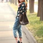 รองเท้าทำงานส้นสูงสีดำ หุ้มส้น หัวกลม ส้นเข็ม ส้นสูง11cm ทรงเจ้าหญิง แฟชั่นเกาหลี