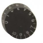 วอลุ่มกีต้าร์ไฟฟ้า สีดำตัวหนังสือขาว LP Speed Knob LPS-04 Style