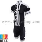 ชุดจักรยานแขนสั้น Giant 2015 สีขาวดำ