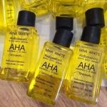 หัวเชื้อเร่งผิวขาว WHITE BODY SERUM AHA by MIMI WHITE ผสมวิตามิน C, B เข้มข้น
