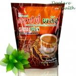 Coffee Plus Zhulian 40 Sachets กาแฟโสม คอฟฟี่ พลัส ซูเลียน 40 ซอง ส่งฟรี
