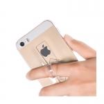 เคส iPhone 5, 5s , SE รุ่น Hoco Ring ( เคสใสพร้อมห่วงจับโทรศัพท์ในตัว )